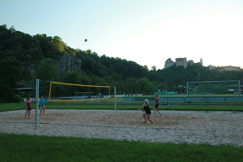 Beachvolleyballfeld Harburg